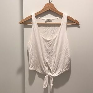 Cropped tied tank from urban outfitters